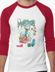 Mortyo's Spacey Cereals Men's Baseball ¾ T-Shirt