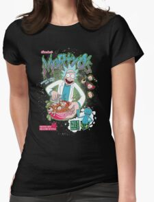 Mortyo's Spacey Cereals Womens Fitted T-Shirt