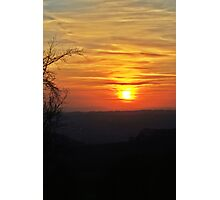 Sprintime Sunset  Photographic Print