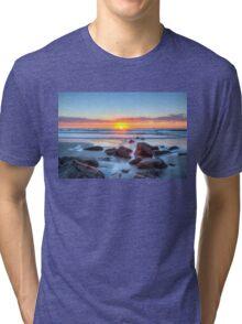 Sunrise at the rocks_2 Tri-blend T-Shirt