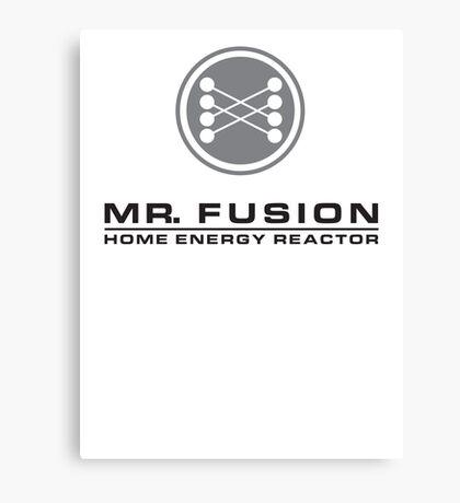 MR FUSION | Back to the Future Canvas Print