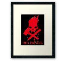 Hell Bringer Framed Print