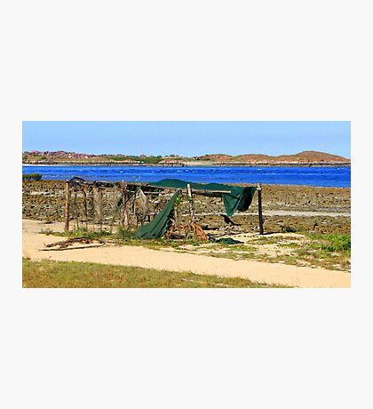 One Arm Point Photographic Print