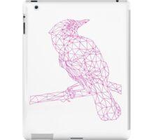 Neon Pink Bird iPad Case/Skin