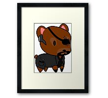 My little Fury Framed Print