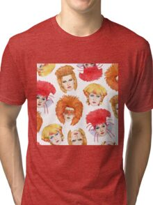 Four Faces of Toyah Tri-blend T-Shirt