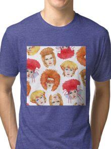 Four Faces of Toyah Tri-blend T-Shirt