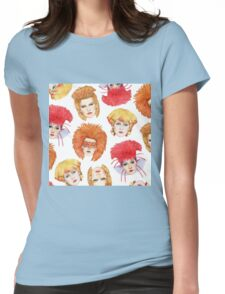 Four Faces of Toyah Womens Fitted T-Shirt