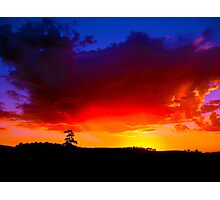 Red Horizon - Western Australia Photographic Print