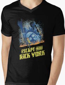 Escape from Rick York Mens V-Neck T-Shirt