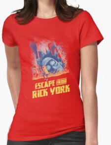 Escape from Rick York Womens Fitted T-Shirt
