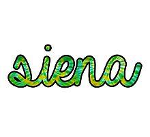 Siena Tie Dye Photographic Print