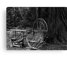 Forest Furniture Canvas Print