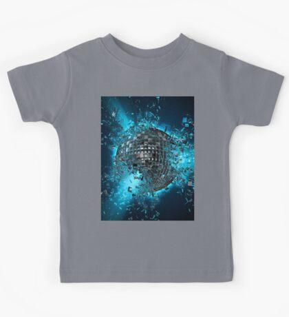 Disco planet explosion Kids Tee