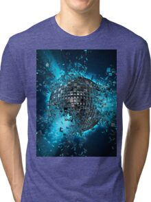 Disco planet explosion Tri-blend T-Shirt