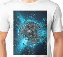 Disco planet explosion Unisex T-Shirt