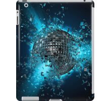 Disco planet explosion iPad Case/Skin