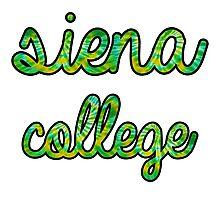 Siena College Tie Dye Photographic Print