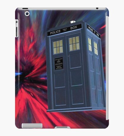 Tardis of the 3rd and 4th iPad Case/Skin