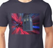 Tardis of the 3rd and 4th Unisex T-Shirt