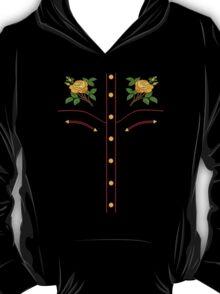 Texas Rose Western Style T-Shirt T-Shirt