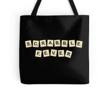Scrabble fever geek funny nerd Tote Bag