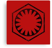 The Force Awakens - Imperial Logo Canvas Print