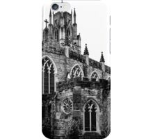 Gothic in Black and White iPhone Case/Skin