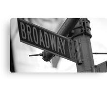 Broadway.: Canvas Print
