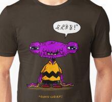 Alien Brown Unisex T-Shirt