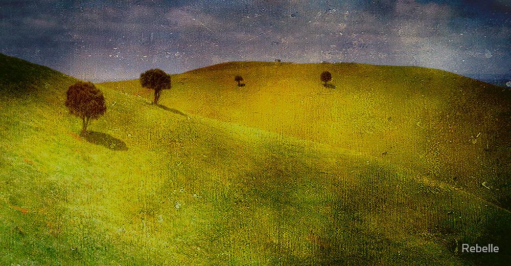 Red Rock by Cathy  Walker