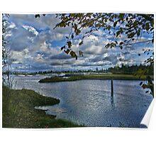 Fraser River Estuary Poster