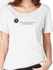 Achievement Unlocked New Character Created Women's Relaxed Fit T-Shirt