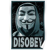 Anonymous - Disobey Poster