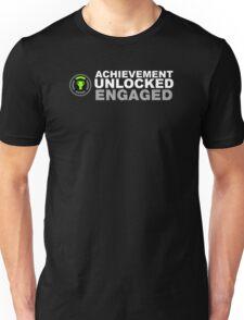 Achievement Unlocked Engaged Unisex T-Shirt