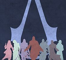 Assassin's Creed Game Poster by HAPPYDOOMSDAY