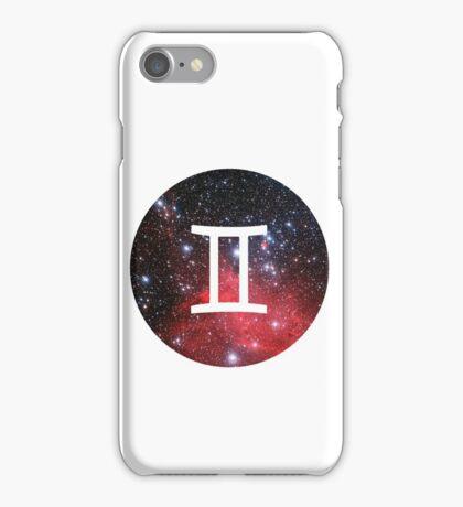 Gemini - The Twins Symbols  iPhone Case/Skin