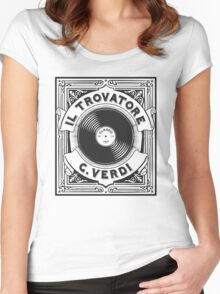 Il Trovatore Women's Fitted Scoop T-Shirt