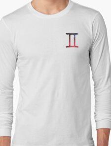 Gemini - The Twins Symbols  Long Sleeve T-Shirt