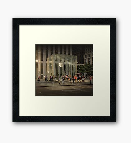 The Big Apple Framed Print