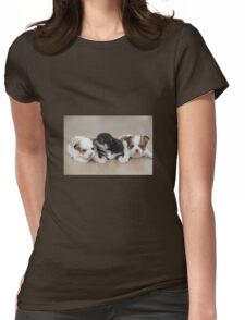 Puppies Womens Fitted T-Shirt