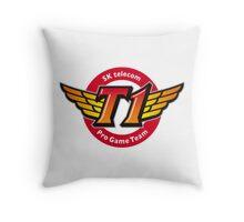 League of Legends Teams - SKTT1 Telecom Throw Pillow