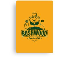 Bushwood (Dark) Canvas Print