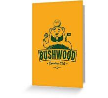 Bushwood (Dark) Greeting Card