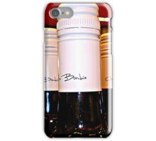 *Red Wine Tops in BottleShop at  Supermarket* iPhone Case/Skin