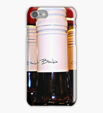 *Red Wine Tops in BottleShop at  Supermarket* iPhone Case/Skin