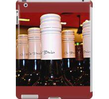 *Red Wine Tops in BottleShop at  Supermarket* iPad Case/Skin