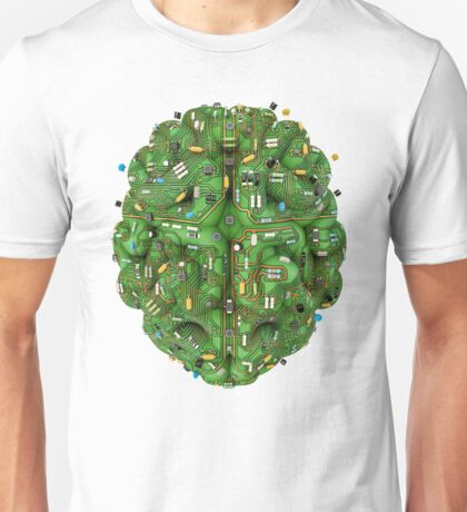 Circuit brain Unisex T-Shirt