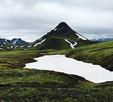 Green mountains of Iceland by awierzbowska