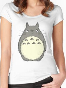 Tonari no Totoro Women's Fitted Scoop T-Shirt